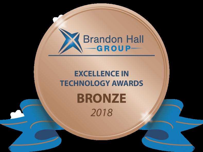 Bronze Brandon Hall Logo